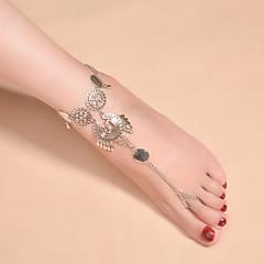 Femme Bracelet de cheville/Bracelet Alliage Mode Vintage Bohême bijoux de fantaisie Goutte Bijoux Pour Mariage Quotidien