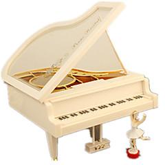 voordelige Speeldozen-Muziekdoos Speeltjes Hart Hout Stuks Unisex Geschenk