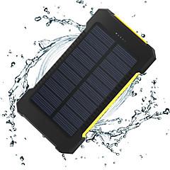 billige Eksterne batterier-8000 mAh Til Power Bank Eksternt batteri 5 V Til 1 A / 2 A Til Batterilader Lommelykt / Flere utganger / Solenergilading