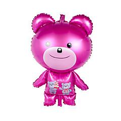 tanie Zabawki nowoczesne i żartobliwe-Piłeczki Balony Dmuchane materace do pływania Kaczka Niedźwiedź XL Nadmuchiwany Słodkie Impreza Aluminium Dla obu płci Dla dzieci Prezent