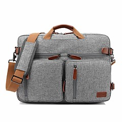 "cheap Laptop Bags-Textile Solid Color Handbags Backpacks Shoulder Bag 17"" Laptop"