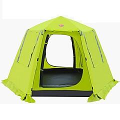 halpa -CAMEL 3-4 henkilöä Teltta Kaksinkertainen teltta Yksi huone Taitettava teltta varten Retkeily Matkailu CM