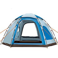 GAZELLE OUTDOORS 5-8 사람 텐트 싱글 캠핑 텐트 원 룸 자동 텐트 방수 방풍 자외선 방지 폴더 통기성 용 하이킹 캠핑 야외 >3000mm 240*240*145 CM