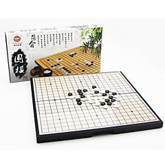 tanie Gra w szachy-Gry planszowe Szachy Go / Weiqi Zabawki Magnetyczne Kwadrat Zabawki Plastikowy Sztuk Dla obu płci Prezent