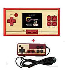 Rs-30 klassisk retro spilkonsol håndholdt bærbar 2.6 600 spil lomme gratis patron 2d afspiller controller for fc