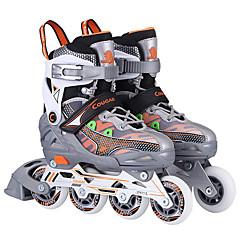 Kinder Inline-Skates Einstellbar Blau/Orange/Rosa