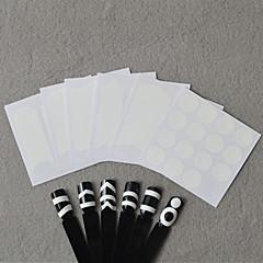 billige Negleklistremerker-6 Neglekunst klistremerke Utstanset Manikyr Sjablong 3D Negle Klistremerker Sminke Kosmetikk Neglekunst Design