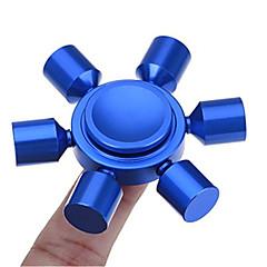 お買い得  ハンドスピナー-Hand spinne ハンドスピナー おもちゃ ADD、ADHD、不安、自閉症を和らげる オフィスデスクのおもちゃ フォーカス玩具 ストレスや不安の救済 キリングタイム シックススピナー メタル クラシック 小品 女の子 男の子 子供用 成人 ギフト