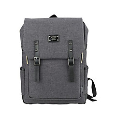 cheap Laptop Bags-15.6 inch Ultra-Light Portable Computer Backpack Korean Style Shoulder Bag Waterproof Pure Color Unisex