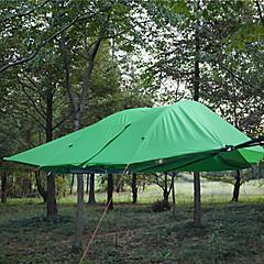 3-4 אנשים אוהל צילייה למחנאות כפול קמפינג אוהל חדר אחד אוהל מתקפל עמיד למים עמיד עמיד אולטרה סגול מתקפל נשימה ל צעידה קמפינג חוץ