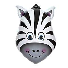 Balónky Nafukovací bazén Float Hračky Kůň Zebra Zvíře Zvířata Unisex Pieces
