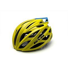 男女兼用 バイク ヘルメット 26 通気孔 サイクリング サイクリング マウンテンサイクリング ロードバイク ワンサイズ PC EPS 炭素繊維 + EPS ホワイト グレー イエロー