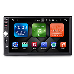 cheap Car DVD Players-7 inch 2 DIN 1024 x 600 Android6.0 Car DVD Player  for Universal Built-in Bluetooth GPS RDS Steering Wheel Control 3G (WCDMA) WiFi Touch