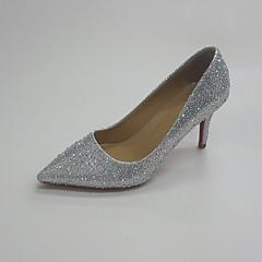 Damen-Hochzeit Schuhe-Hochzeit Kleid Party & Festivität-Glanz-Stöckelabsatz-Club-Schuhe-