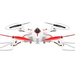 RC Drone X56White 4 Kanaler 6 Akse 2.4G Med kamera Fjernstyrt quadkopter FPV LED-belysning En Tast For Retur Auto-Takeoff Hodeløs Modus