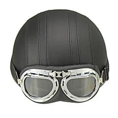 하프헬맷 구글과 헬멧 ABS 오토바이 헬멧