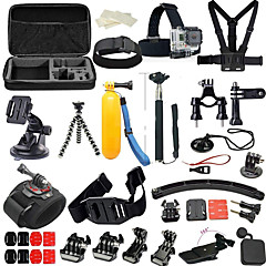 cheap Accessories For GoPro-Accessory Kit For Gopro 36 in 1 Multi-function Foldable Adjustable For Action Camera Gopro 6 Gopro 5 Xiaomi Camera Gopro 4 Black Gopro 4