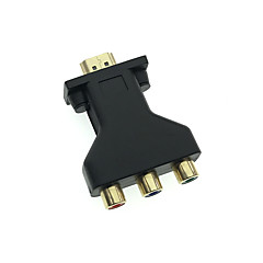 Cwxuan 1080p hdmi zu cvbs rca av video konverter adapter