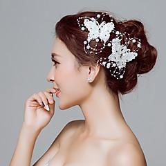 Δαντέλα Λουλούδια Κλιπ Μαλλιών Unelte Păr Headpiece