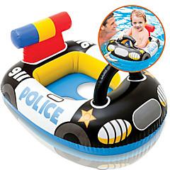 billiga Uppblåsbara badringar och badmadrasser-Polis Uppblåsbara badflottar / Badringar med donut-form / Badringar Plast Barn Pojkar / Flickor