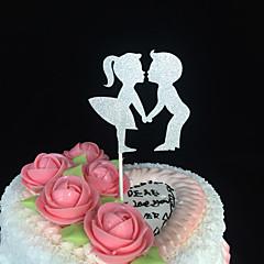 billige Kakedekorasjoner-Kakepynt Ikke-personalisert Kort Papir Bryllup Jubileum Utdrikkingslag Baby Fest 15- og 16-års bursdag Bursdag Skåret Design Klassisk Tema