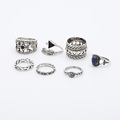 billige Motering-Dame Ring - Legering Vintage, Euro-Amerikansk En størrelse Sølv Til Fest