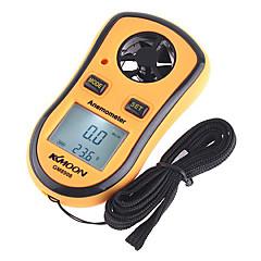 tanie Testery i detektory-Kkmoon cyfrowy anemometr