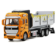 cheap Diecasts & Toy Vehicles-Truck Dump Truck Toy Truck Construction Vehicle Toy Car 1:32 Metal Alloy Unisex Kid's Toy Gift