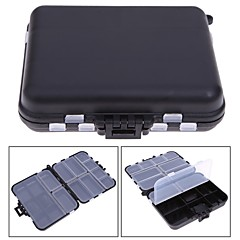 Fishing Tackle Box 26 Compartme Plastic Fly Fishing Lure Spoon Hook Bait Case Accessories Tools