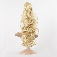 voordelige Haar Stukken-Paardenstaart Synthetisch haar Haar stuk Haarextensies Golvend