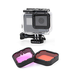 Dive Filter Outdoor For Action Camera Gopro 5 Diving Surfing Diving/Boating Diving & Snorkeling Plastics