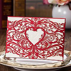 Wrap & Pocket Wedding Invitations 20 Card Paper