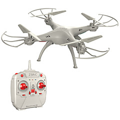 billige Fjernstyrte quadcoptere og multirotorer-RC Drone Z1+ 4 Kanal 6 Akse 2.4G Fjernstyrt quadkopter Fjernstyrt Quadkopter / Fjernkontroll / 1 Usb-Lader Kabel / En Tast For Retur