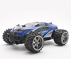 billige Fjernstyrte biler-Radiostyrt Bil S737 27MHz Buggy (Off- Road) / Off Road Car / Driftbil 1:16 18 km/h KM / H Fjernkontroll / Oppladbar / Elektrisk