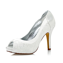 olcso -Női Magassarkúak Kényelmes Club cipő színezhető cipő Selyem Tavasz Ősz Ruha Party és Estélyi Kényelmes Club cipő színezhető cipő Stiletto