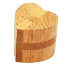 Rakennuspalikat Kong Ming Kilidi Lelut Sydämenmuotoinen Heart Puu Lasten Pieces