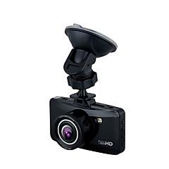 W100 HD 1280 x 720 1080p 140 graden Auto DVR Generalplus1248 2,7 inch LCD Dash CamforUniverseel G-Sensor Parkeermodus Bewegingsdetectie