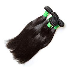 billige Remy fletninger af menneskehår-Remy hår Remy fletninger af menneskehår Lige Indisk hår 400 g 1 år