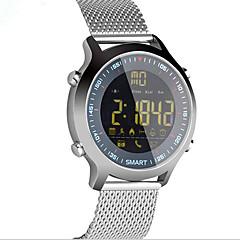 tanie Inteligentne zegarki-E18 Inteligentny zegarek Android iOS Bluetooth Sport Wodoodporny Spalonych kalorii Długi czas czuwania Rejestr ćwiczeń Stoper Powiadamianie o połączeniu telefonicznym Rejestrator aktywności fizycznej