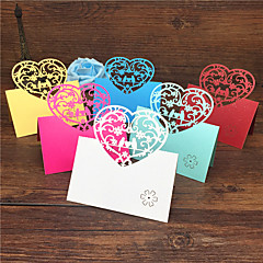 40pcs Love Birds Laser Cut Wedding Party Table Name Place Cards Birdcage Guest Place Cards Favors Wedding Decoration