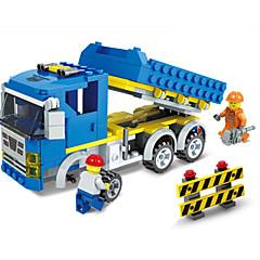 Blocos de Construir Carros de Brinquedo Veiculo de Construção Brinquedos Quadrada Unisexo Rapazes Peças