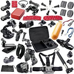 baratos Câmeras Esportivas & Acessórios GoPro-KIT / Acessórios / Tripê Exterior / Multi funções / Dobrável Para Câmara de Acção Gopro 6 / All Action Camera / Gopro 5 Ciclismo de Lazer