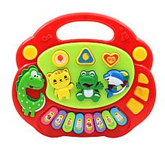 tanie Instrumenty dla dzieci-Akcesoria do domku dla lalek Keyboard elektroniczny Zabawka edukacyjna Oyuncak Müzik Aleti Animals Zabawa Dla dzieci