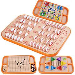 tanie Gry i puzzle-Gry planszowe Zabawki Duży rozmiar Kwadrat Drewniany Sztuk Dla dzieci Prezent