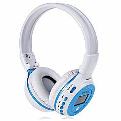熱心なb570ワイヤレスBluetooth v4.0ヘッドフォン3.5ミリメートルLEDディスプレイスクリーンステレオ音楽ヘッドバンドイヤホンfmラジオtfカードスロット