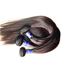 billige Remy fletninger af menneskehår-Menneskehår Remy fletninger af menneskehår Lige Peruviansk hår 1000 g Over et år