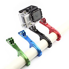 cheap Accessories For GoPro-Handlebar Mount Adjustable For Action Camera Gopro 6 All Gopro Bike/Cycling Aluminium Alloy