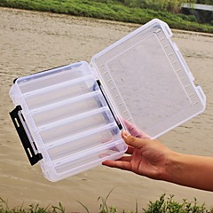 "cheap Fishing Tackle Boxes-Fishing Tackle Boxes Lure Box 2 Trays Plastics 20*6 3/4"" (17 cm)*4.5"