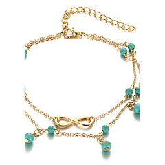 Women's Anklet/Bracelet Alloy Fashion Bohemian Costume Jewelry Infinity Jewelry For Daily Casual