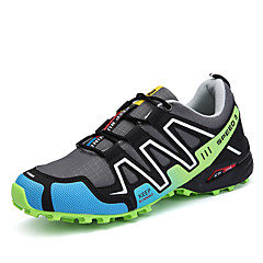 Men's Shoes PU Spring / Fall Light Soles Athletic Shoes Running Shoes Gray / Black / Red